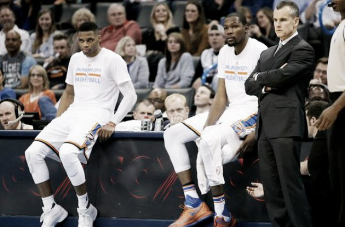 NBA: Durant-Westbrook show a Toronto, New Orleans batte New York