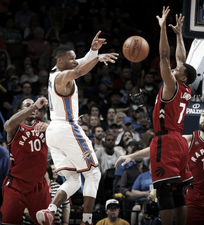 Toronto Raptors look to bounce back vs Oklahoma City Thunder