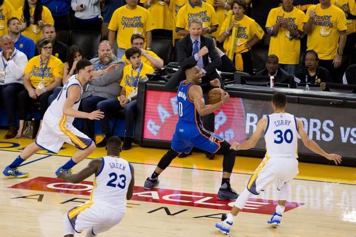 NBA - Oklahoma avanti nella serie, Golden State fuori giri nel finale: le reazioni dei protagonisti