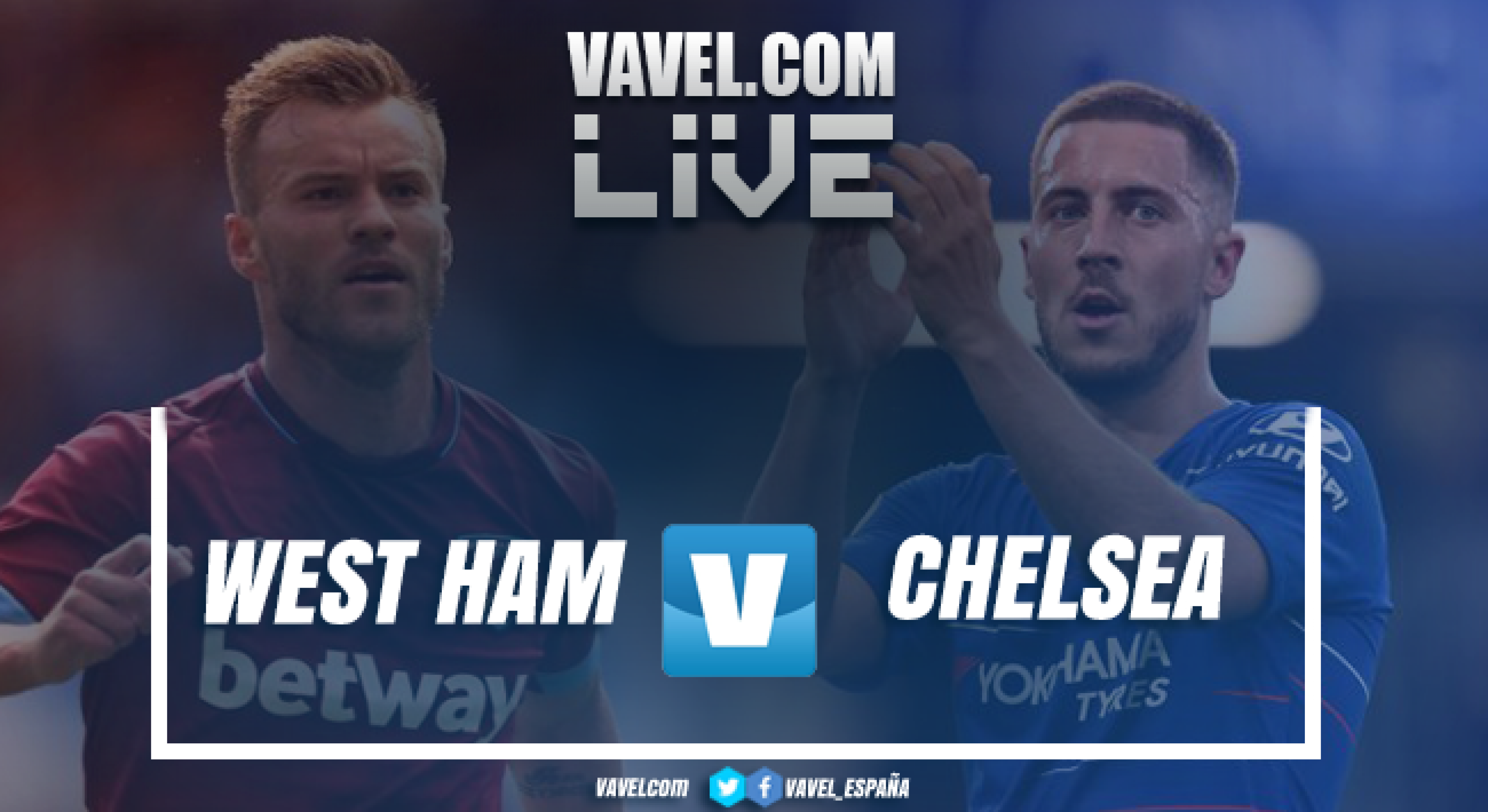 Resumen West Ham - Chelsea en Premier League 2018 (0-0)