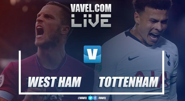 As it happened: West Ham 0-1 Tottenham Hotspur