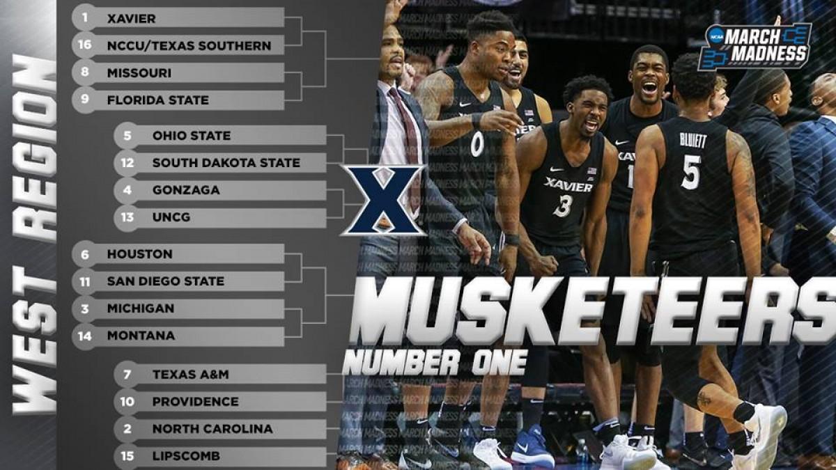 NCAA March Madness - Le squadre premiate dalla Selection Sunday: le wild card ad Ovest