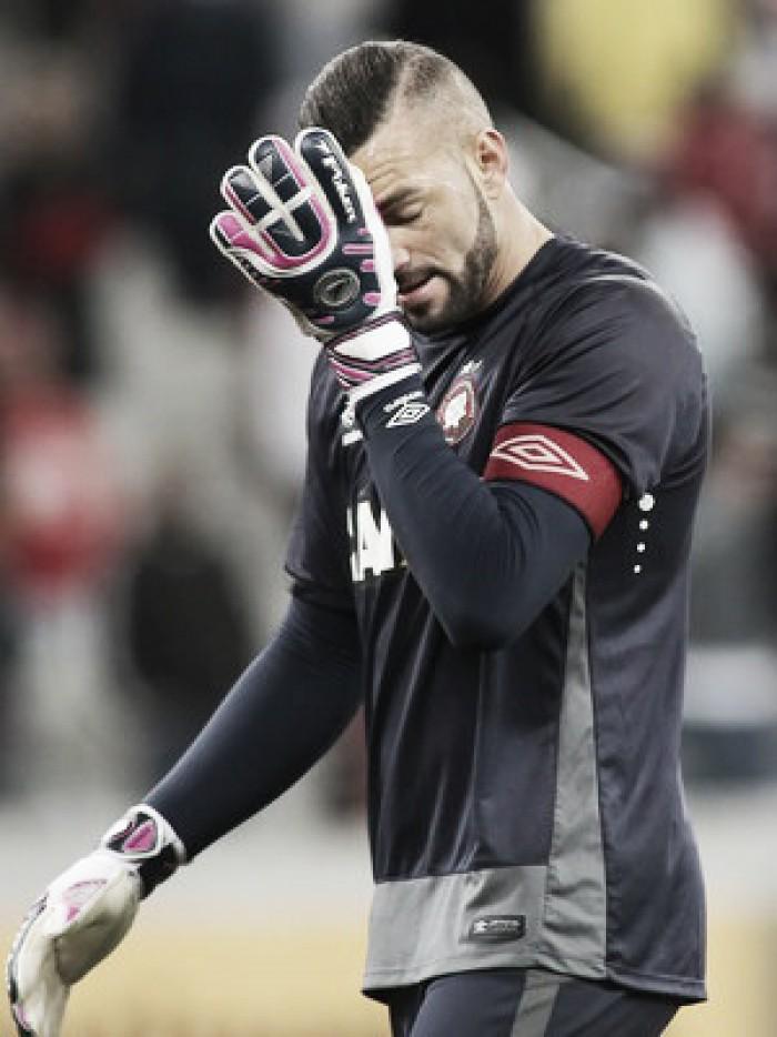 Após revés, jogadores do Atlético-PR destacam foco em clássico do próximo domingo