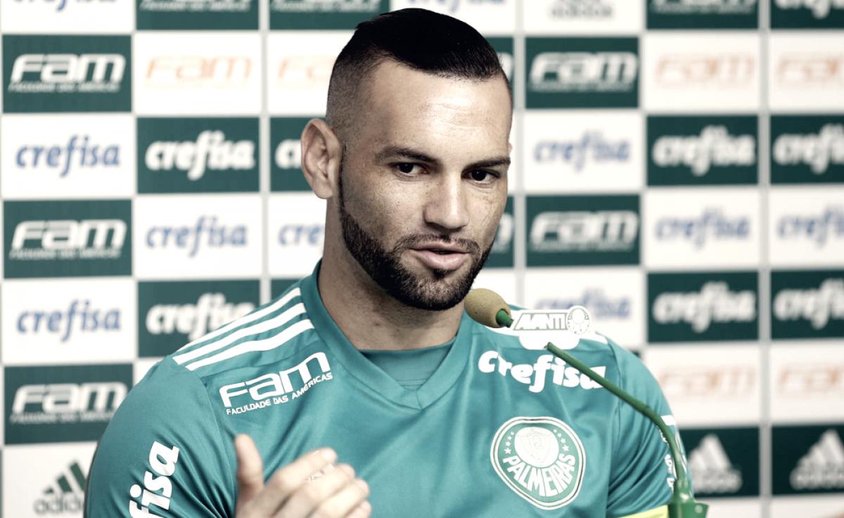 """Weverton fala sobre disputa no gol do Palmeiras: """"Tive que lutar para conquistar meu espaço"""""""