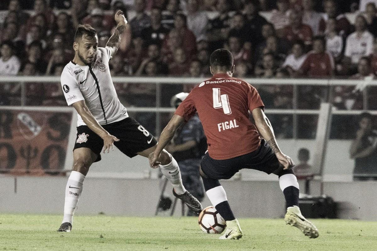 Resultado Corinthians x Independiente pela Copa Libertadores (1-2)