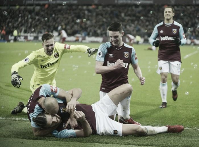 El West Ham se aleja del descenso y hunde al West Brom