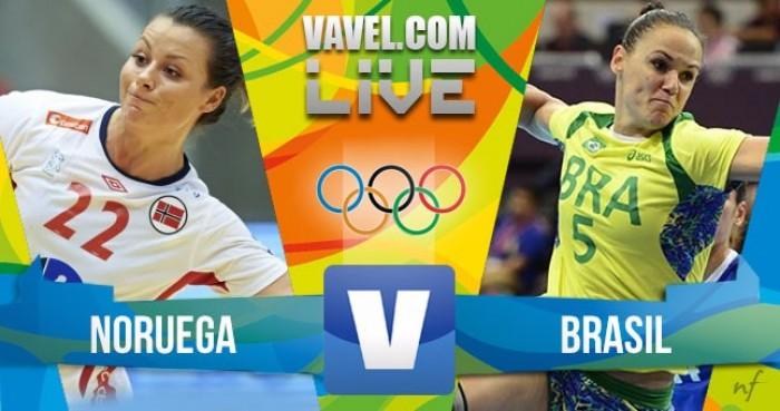 Handebol: Brasil x Noruega na Rio 2016