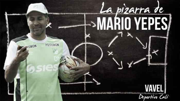 La pizarra de Mario Yepes: Deportes Tolima