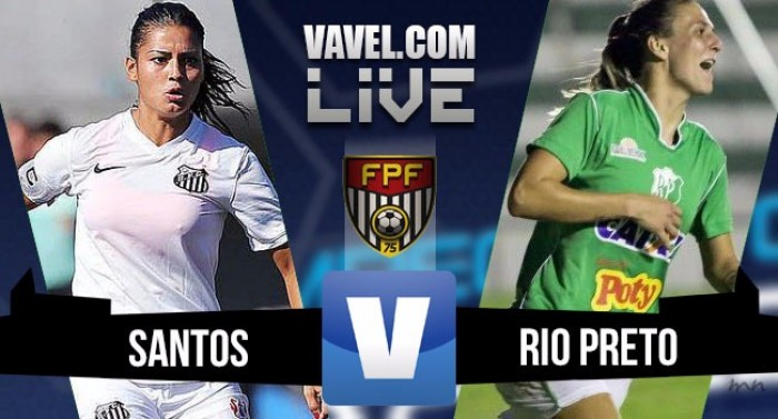Resultado Rio Preto x Santos, final do Campeonato Paulista Feminino 2016 (1-0)