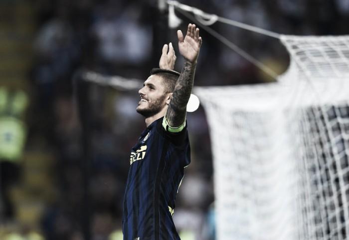Icardi brilha, Internazionale vira contra Juventus e alivia pressão sobre De Boer