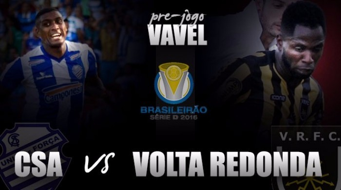 Após empate sem gols na ida, Volta Redonda e CSA decidem título inédito da Série D