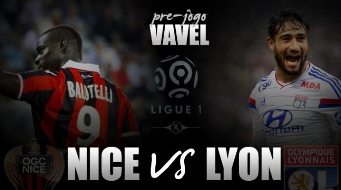 Com Balotelli liberado, Nice recebe Lyon buscando seguir na liderança da Ligue 1