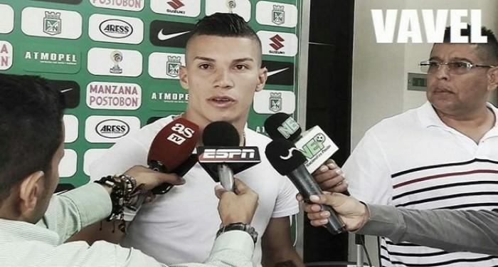 """Matheus Uribe: """"Todos los equipos que van al Atanasio se quieren jugar una final"""""""