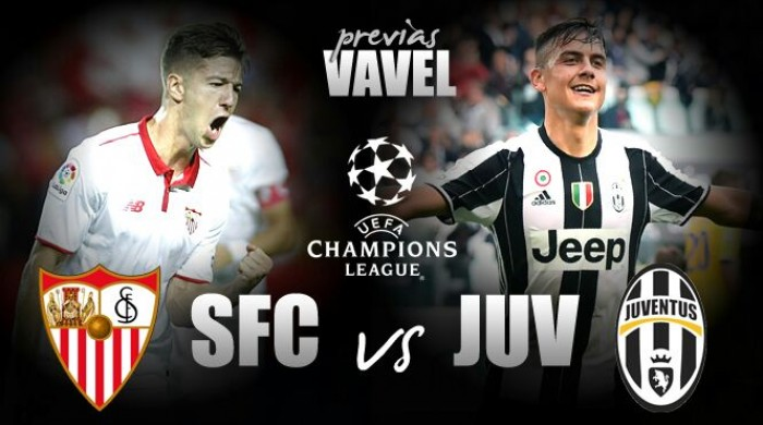 Sevilla e Juventus duelam em confronto direto pela liderança do Grupo H