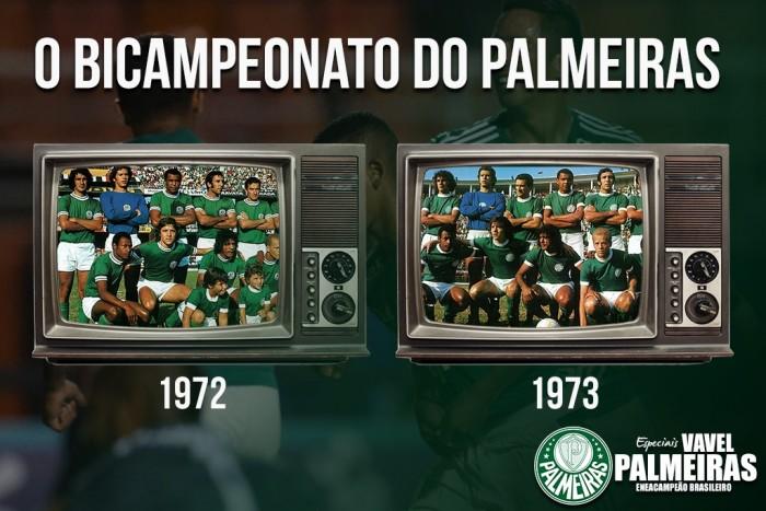 A Segunda Academia do Palmeiras e o bicampeonato de 72/73