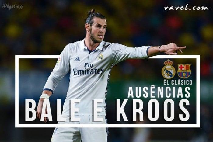 Como Real Madrid se comportará sem Gareth Bale e Toni Kroos?