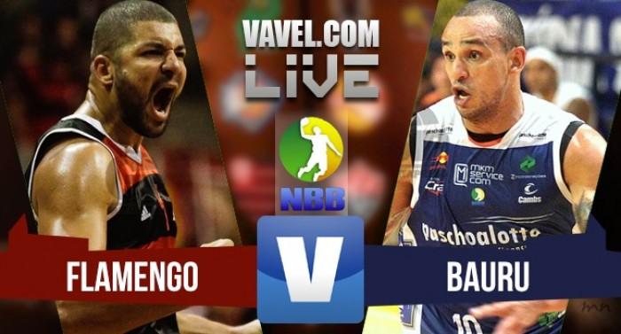 Resultado Flamengo x Bauru na final do NBB no jogo 5