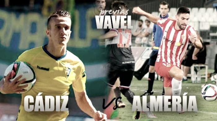 Previa Cádiz CF – UD Almería: derbi andaluz como punto de partida