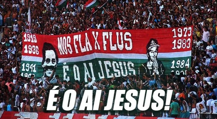 É um Ai, Jesus! Fluminense possui larga vantagem no histórico de finais contra Flamengo