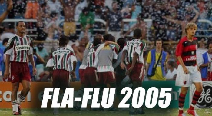 Recordar é viver: em 2005, Flu goleava o Fla no último clássico que decidiu um turno de Estadual