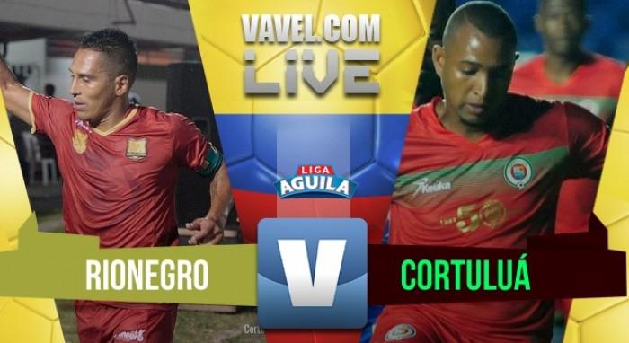 Resultado Rionegro Águilas 0-1 Cortuluá en Liga Águila 2017