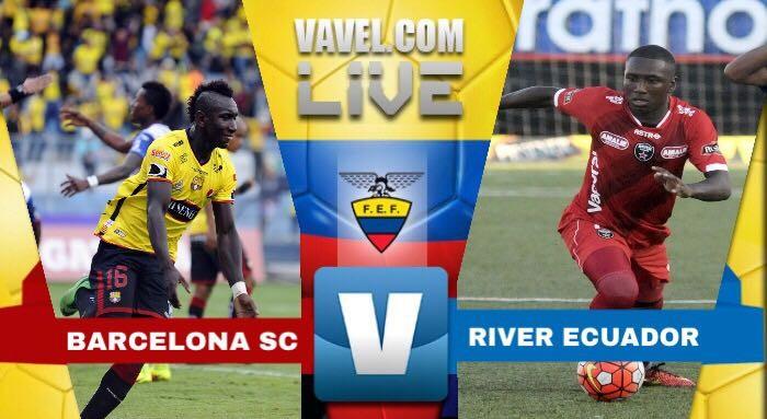 Barcelona, jugando como local en Quito, vence por 2-0 a River Ecuador