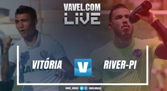 Resultado Vitória x River pelas quartas do Nordestão 2017 (1-0)