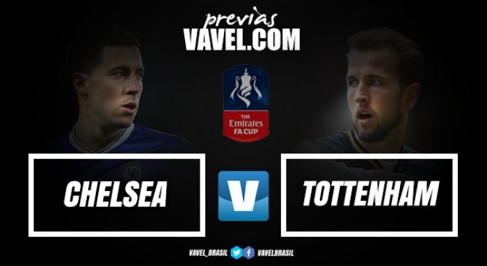 Líderes na Premier League Chelsea e Tottenham duelam por vaga na final da Copa da Inglaterra