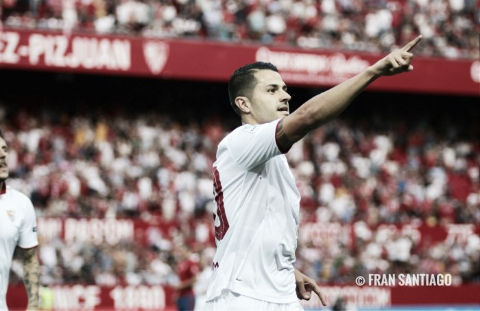 El Sevilla golea en un partido evitable