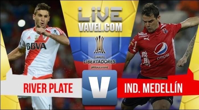 Resumen River Plate vs Medellín Copa Libertadores 2017 (1-2)