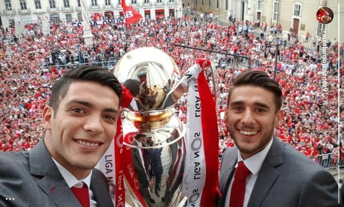 Actividad de mexicanos en Europa: Raúl busca un título más con Benfica.