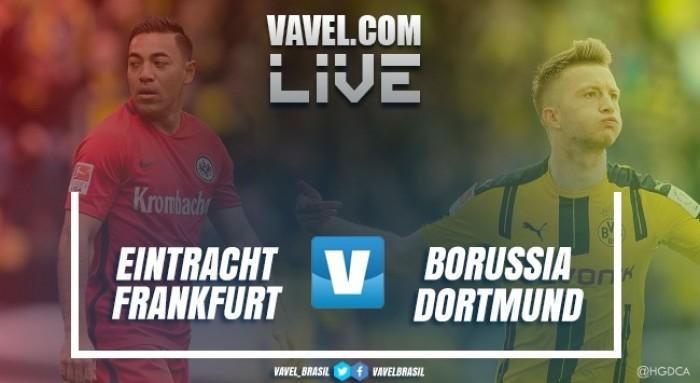 Resultado Eintracht Frankfurt x Borussia Dortmund na DFB-Pokal 2016-2017 (1-2)