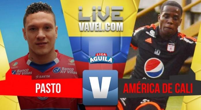 Deportivo Pasto vs. América de Cali en directo online por la Liga Águila 2017 (0-1)
