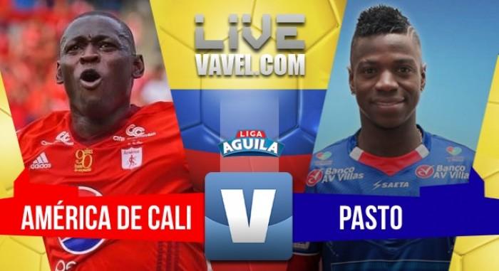América de Cali vs Deportivo Pasto EN VIVO online en ida cuartos de final Liga Águila (0-0)