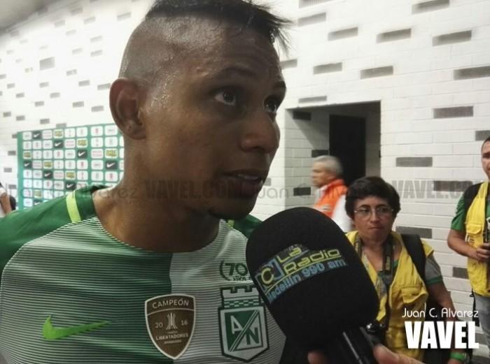"""Arley Rodríguez: """"Del minuto 80' al 90' Nacional es peligroso"""""""