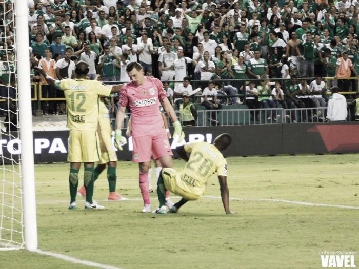Atlético Nacional fue superado en todos los ámbitos y tiene una remontada difícil