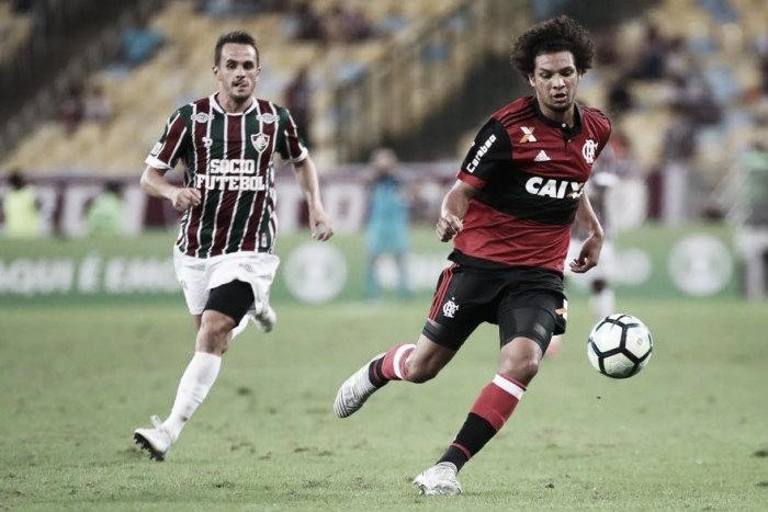 """Willian Arão lamenta empate no Fla-Flu: """"Não jogamos para empatar, merecíamos vencer"""""""