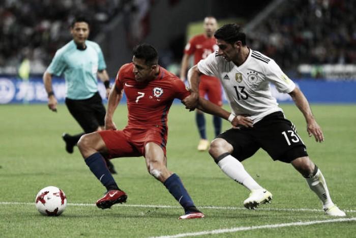 Sánchez atinge marca histórica e Chile fica no empate com Alemanha