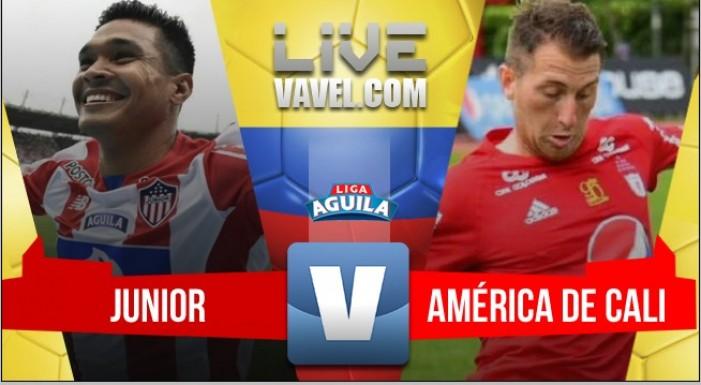 Resultado Junior 3-0 América de Cali por la Liga Águila 2017