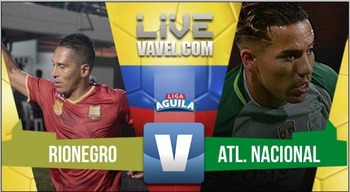 Victoria con lo justo: Rionegro Águilas 0-1 Atlético Nacional