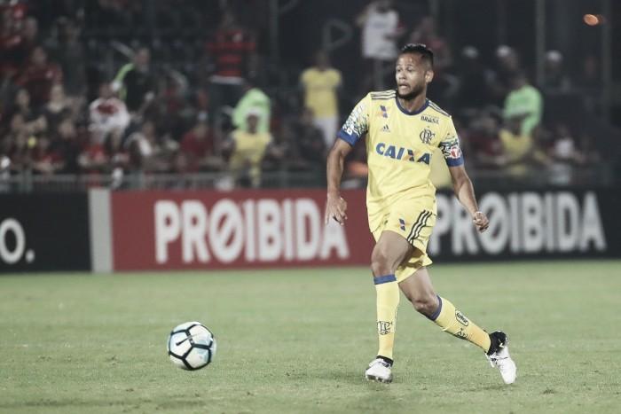 """Geuvânio comemora primeiro jogo como titular: """"Fico feliz pela minha estreia e pelo resultado positivo"""""""