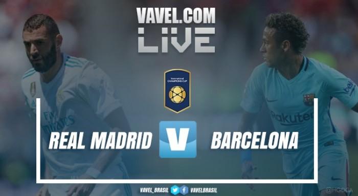 Resultado Real Madrid x Barcelona pela Champions Cup (2-3)