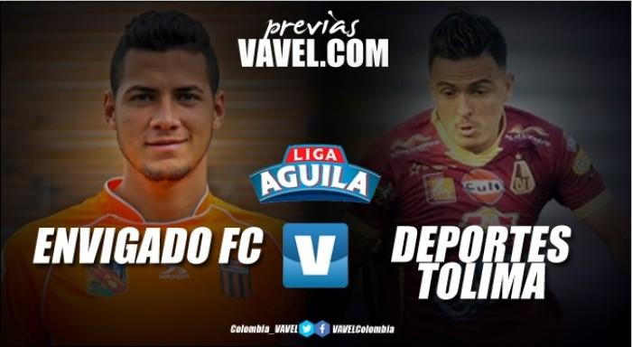 Previa Envigado vs Deportes Tolima: El naranja no da espera frente al pijao