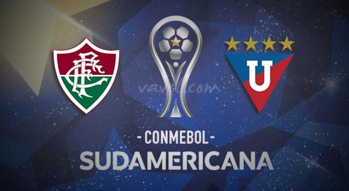 Resultado Fluminense x Liga de Quito na Copa Sul-americana 2017 (1-0)