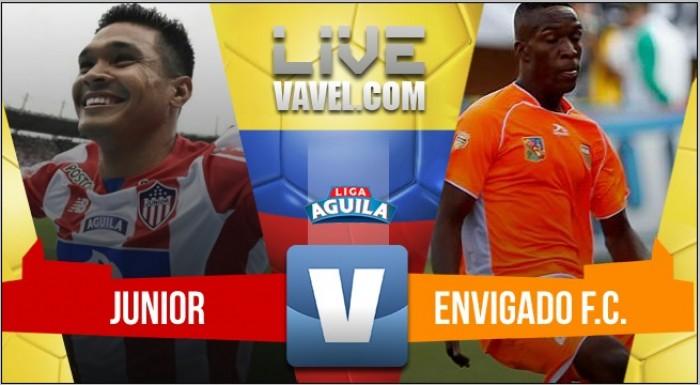 Yimmi Chará le entregó la victoria a Junior frente a Envigado (2-0)