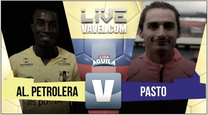 Alianza Petrolera vs Deportivo Pasto en vivo y en directo online por la Liga Águila 2017-2 (4-2)