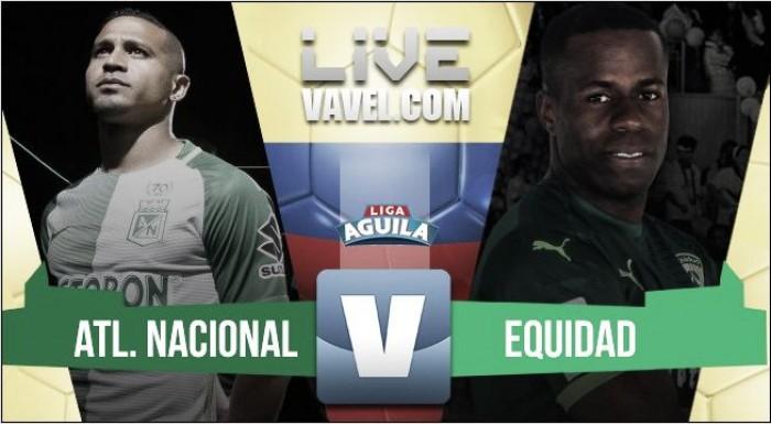 Atlético Nacional y Equidad repartieron puntos