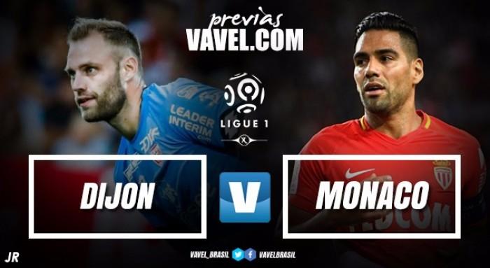 Monaco visita Dijon em busca da segunda vitória na Ligue 1