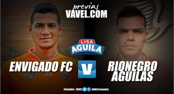 Previa Envigado FC Vs Rionegro Águilas: Duelo antioqueño de necesitados