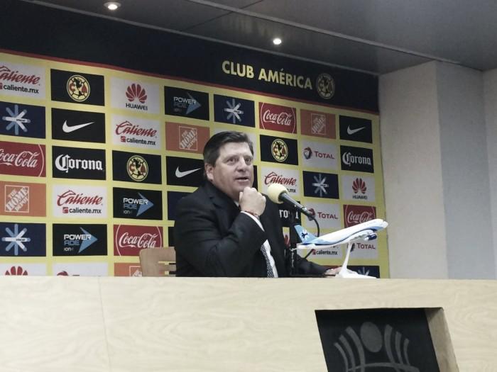 Miguel Herrera vio como un resultado justo el empate ante Tigres